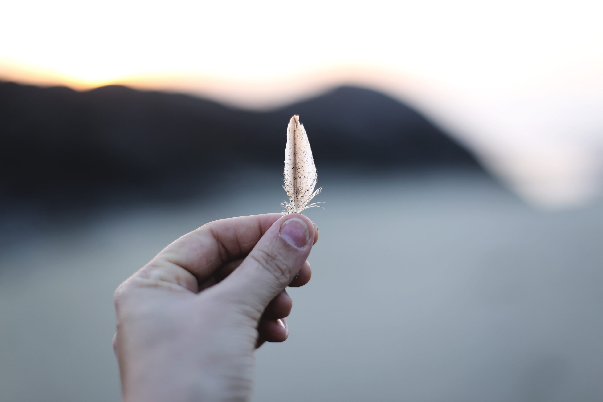 The little feather that brought me to tears ~ MightyMusings.com